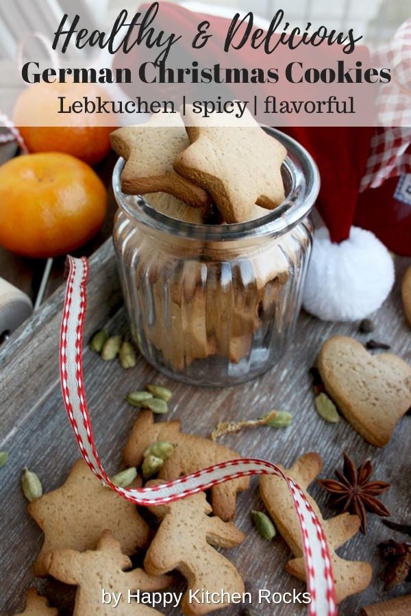 German Christmas Cookies Lebkuchen  German Christmas Cookies Lebkuchen • Happy Kitchen