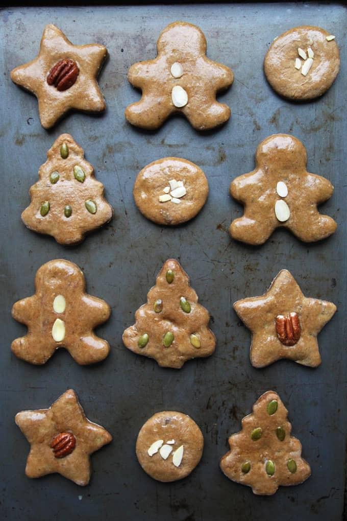 German Christmas Cookies Lebkuchen  Lebkuchen German Gingerbread Cookies – LeelaLicious