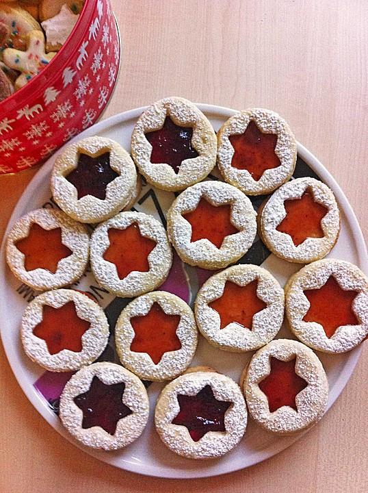 German Christmas Cookies  Spitzbuben Cookies German Christmas Tradition • Best