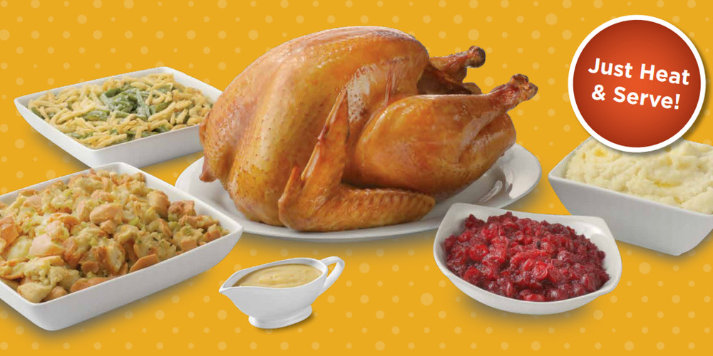 Giant Thanksgiving Turkey Dinner  Goucher Street Giant Eagle Thanksgiving Meal Bundles