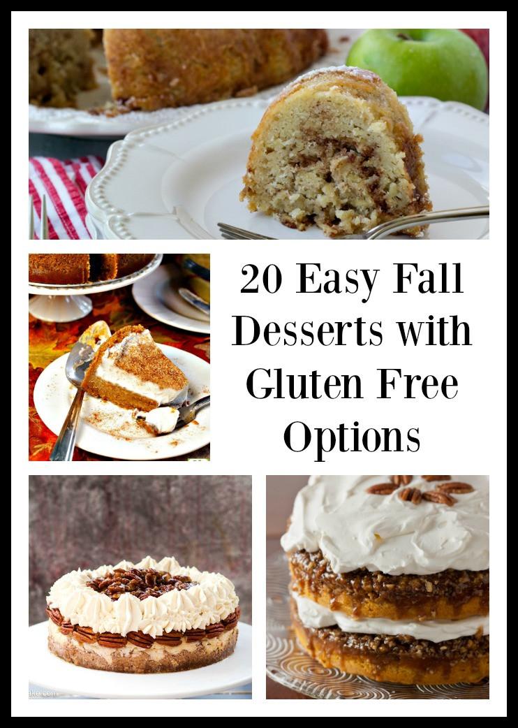 Gluten Free Fall Desserts  20 Easy Fall Desserts with Gluten Free Options blu ridge