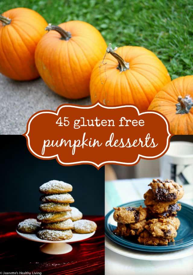 Gluten Free Fall Desserts  45 Gluten Free Pumpkin Desserts The Pretty Bee
