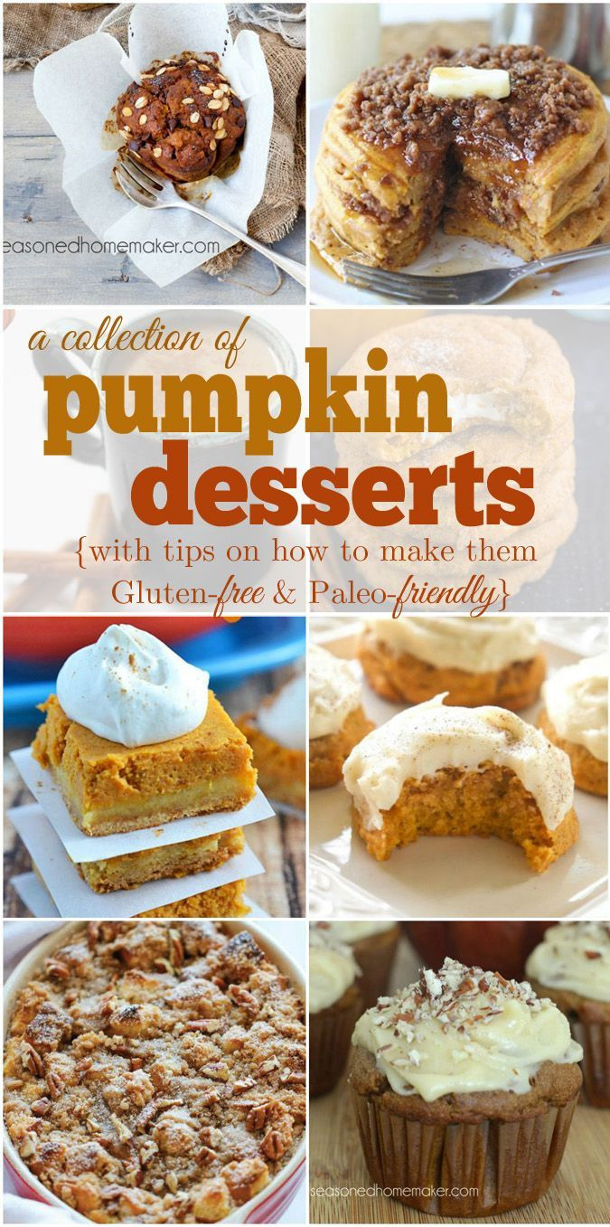 Gluten Free Fall Desserts  1000 images about Gluten Free Recipes on Pinterest