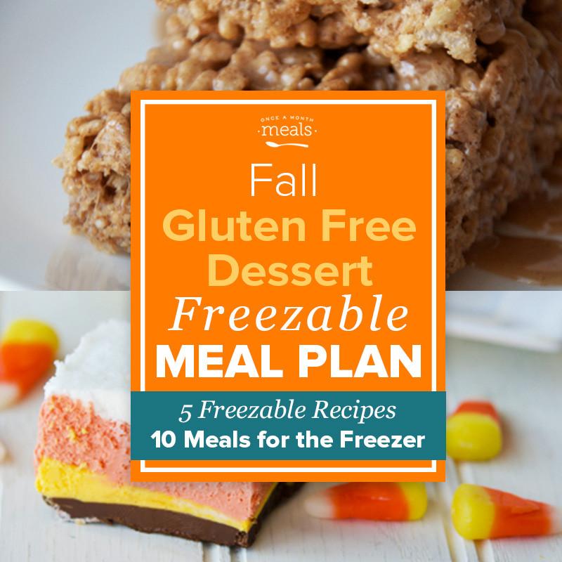 Gluten Free Fall Desserts  Fall Gluten Free Dessert Mini Menu Vol 1