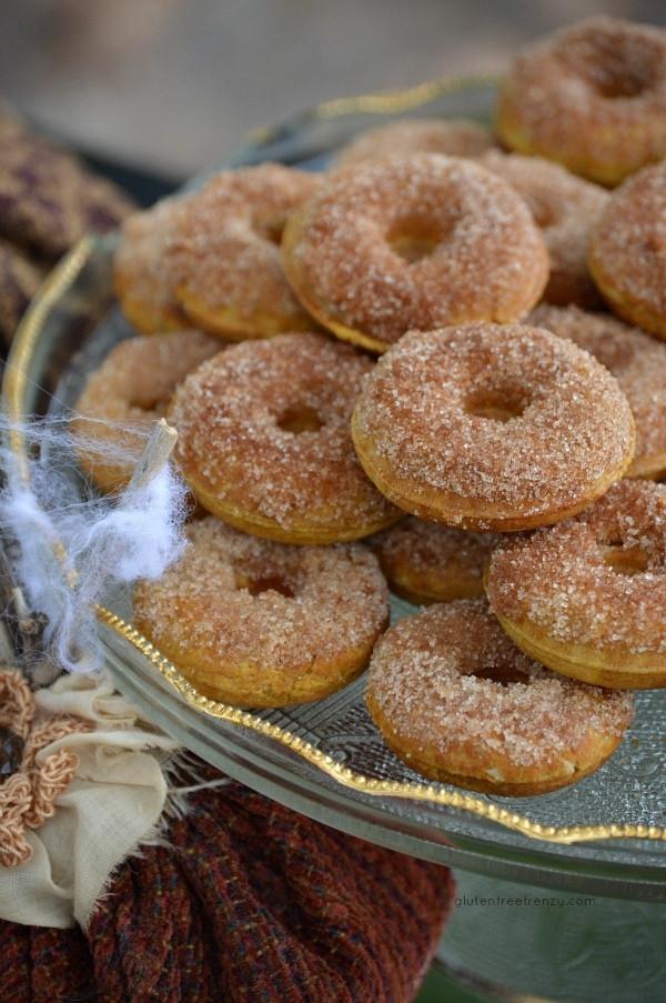 Gluten Free Fall Desserts  Gluten Free Pumpkin Spice Donuts Easy & Gluten Free