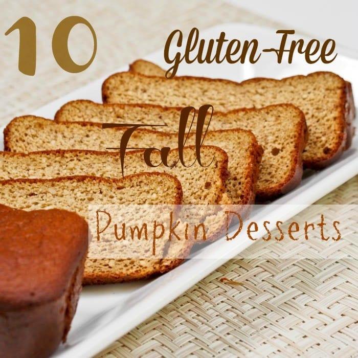 Gluten Free Fall Desserts  10 Gluten Free Fall Dessert with Pumpkin Recipes