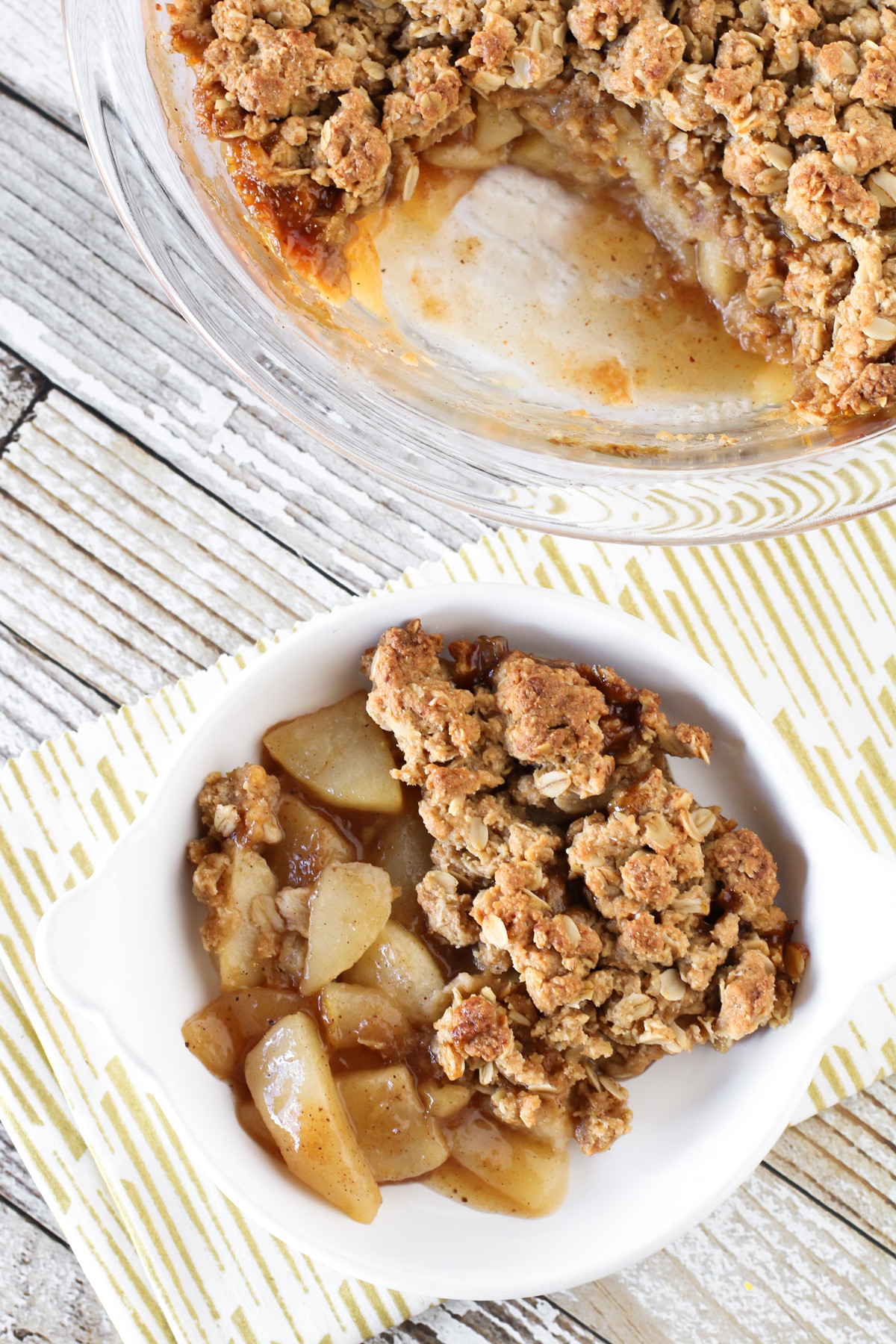 Gluten Free Fall Desserts  gluten free vegan chai spiced pear crisp Sarah Bakes