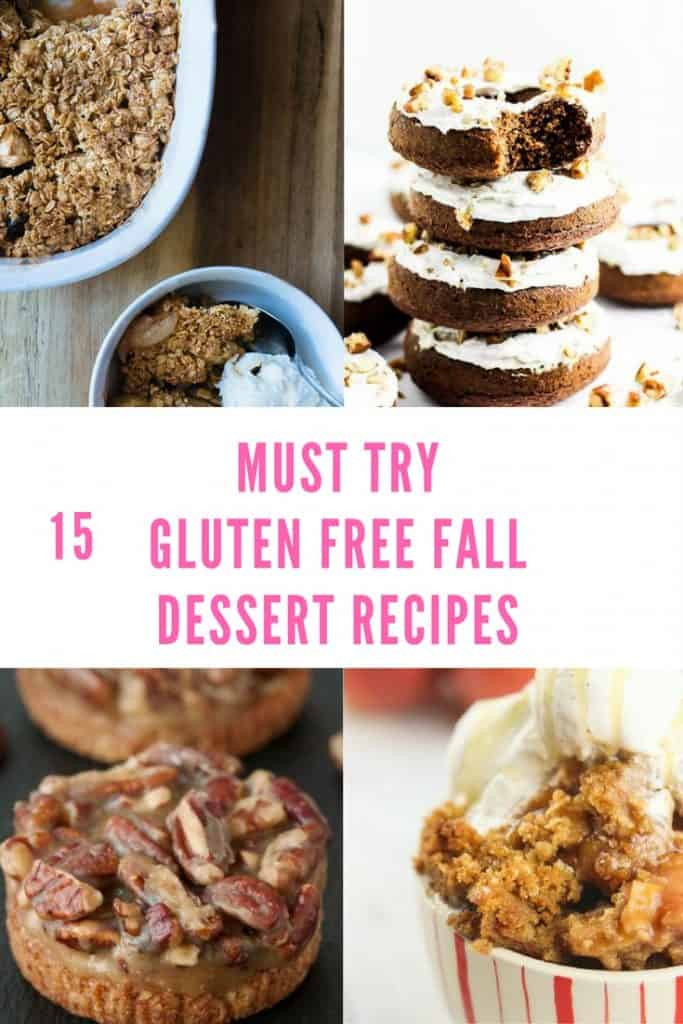 Gluten Free Fall Recipes  15 Delicious Gluten Free Fall Dessert Recipes Everyday
