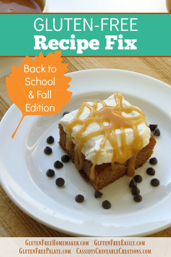 Gluten Free Fall Recipes  Gluten Free Back to School and Fall Recipes for Gluten