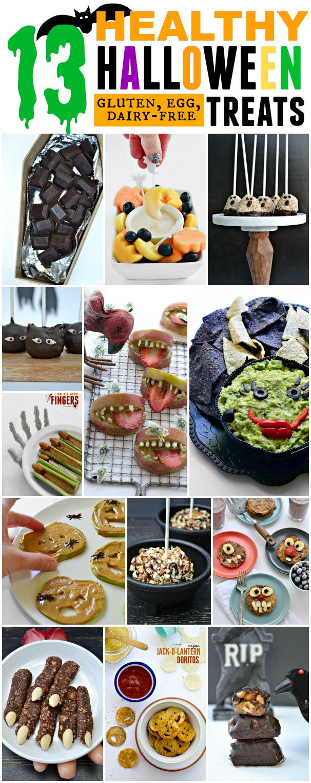 Gluten Free Halloween Cookies  13 Healthy Gluten Free Halloween Treats Fork and Beans