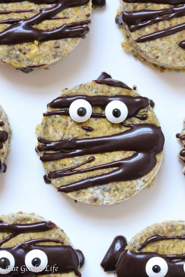 Gluten Free Halloween Cookies  raw halloween cookies vegan gluten free