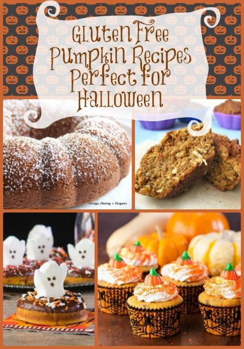 Gluten Free Halloween Recipes  49 best Gluten Free Halloween Recipes and More images on