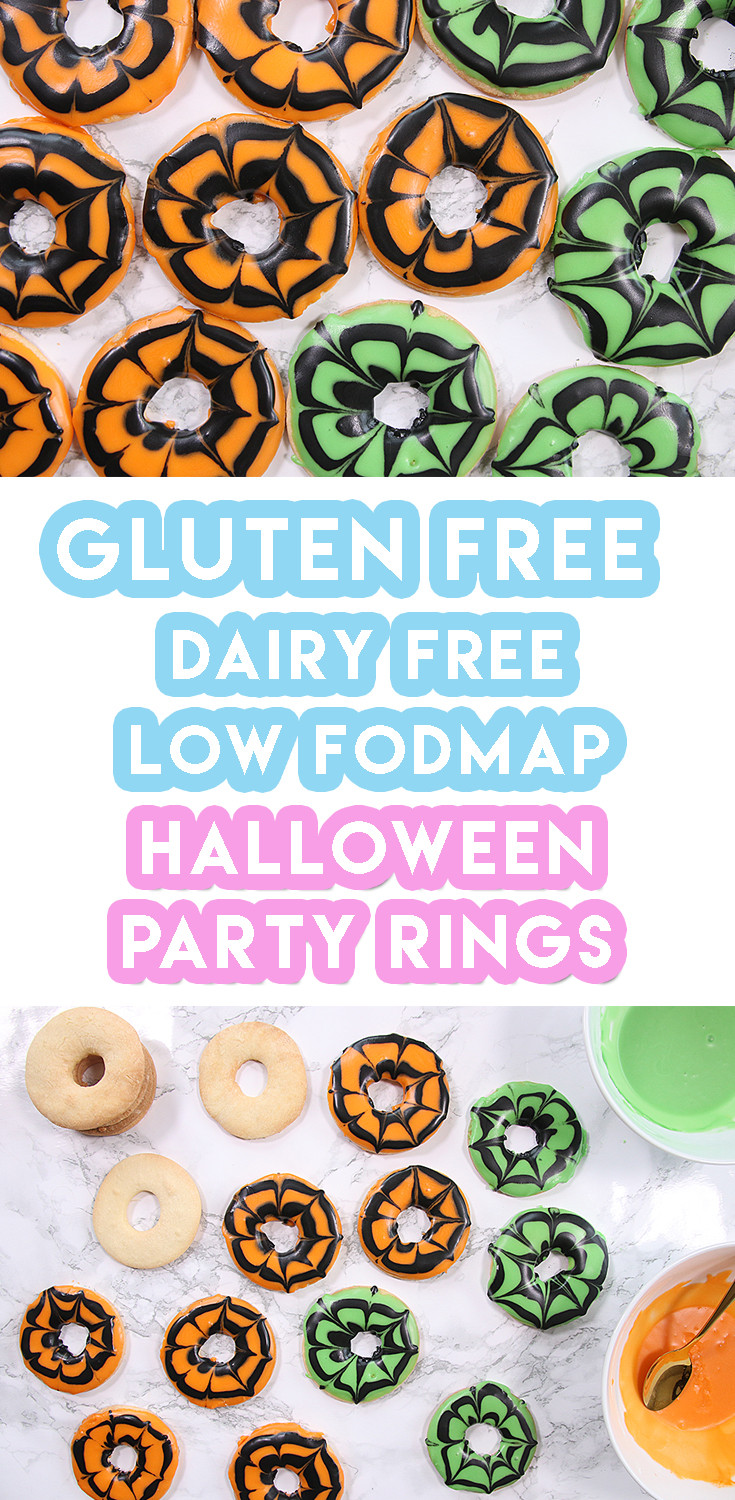 Gluten Free Halloween Recipes  Gluten Free Halloween Party Rings Recipe dairy free and