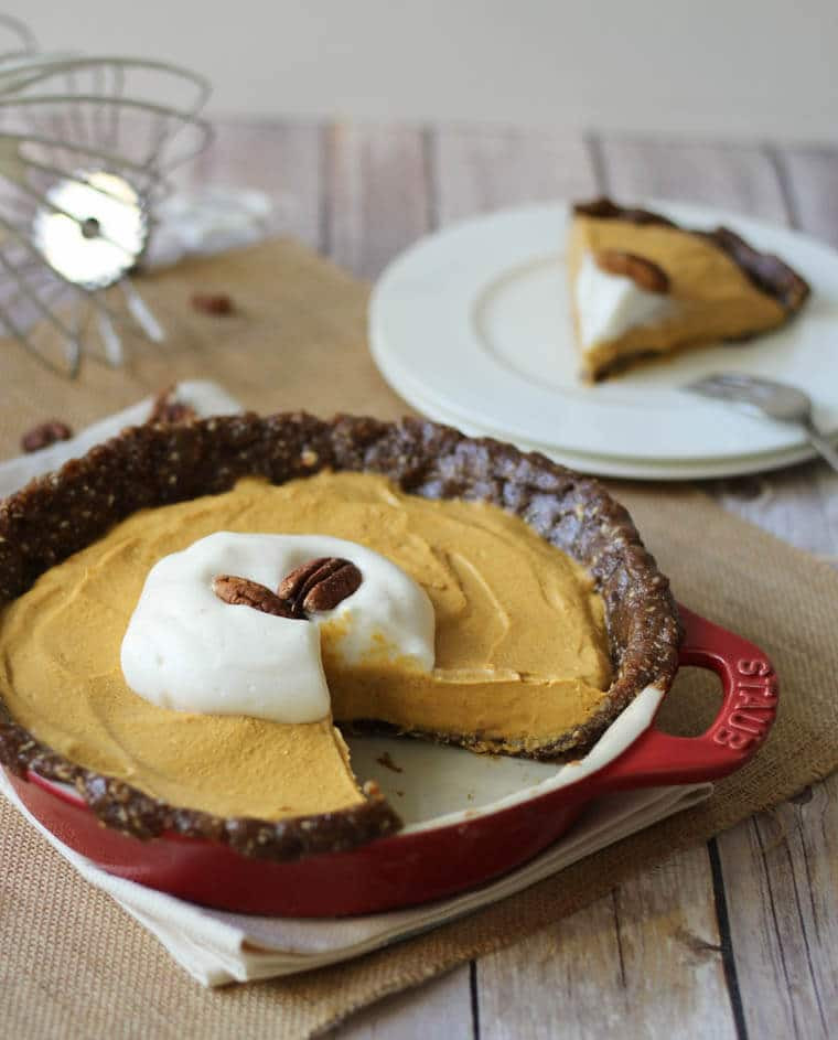 Gluten Free Pumpkin Desserts Thanksgiving  Gluten Free No Bake Pumpkin Pie