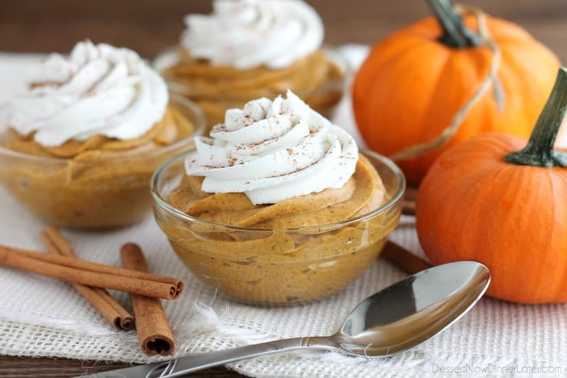 Gluten Free Pumpkin Desserts Thanksgiving  Pumpkin Mousse Dessert Now Dinner Later