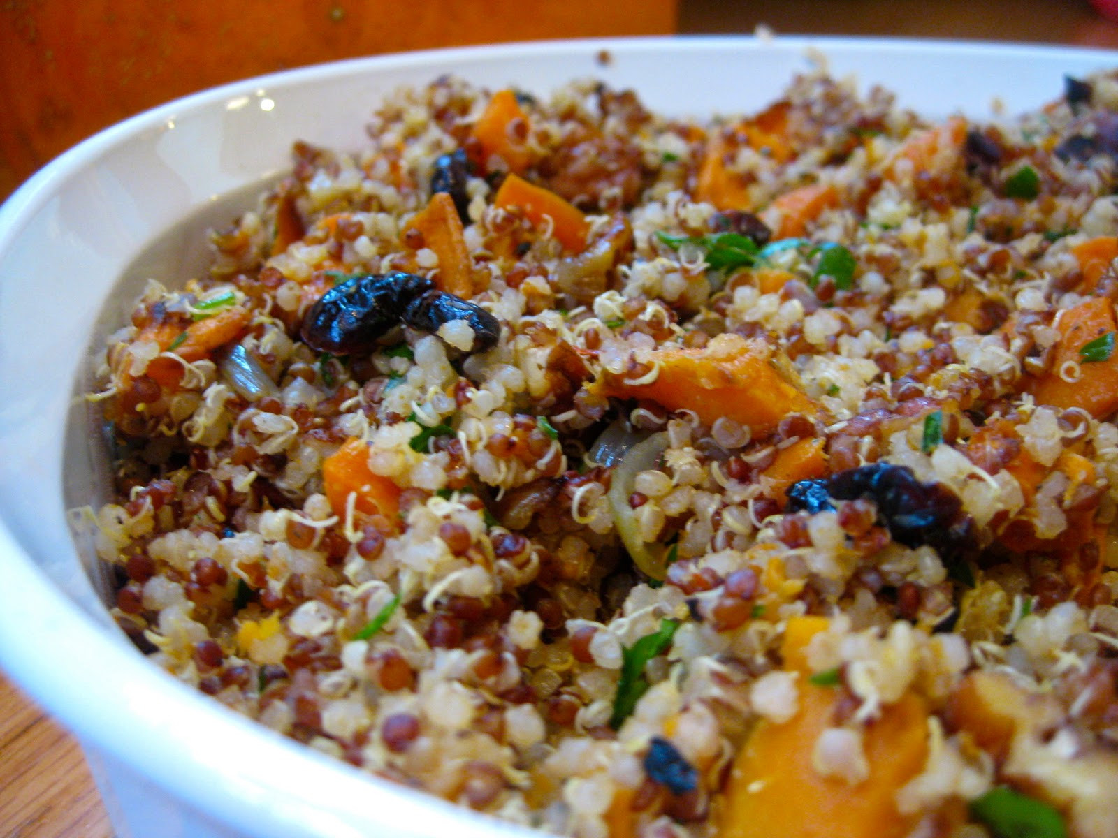Gluten Free Stuffing Recipes For Thanksgiving  Quinoa Stuffing Recipe Gluten Free & Vegan