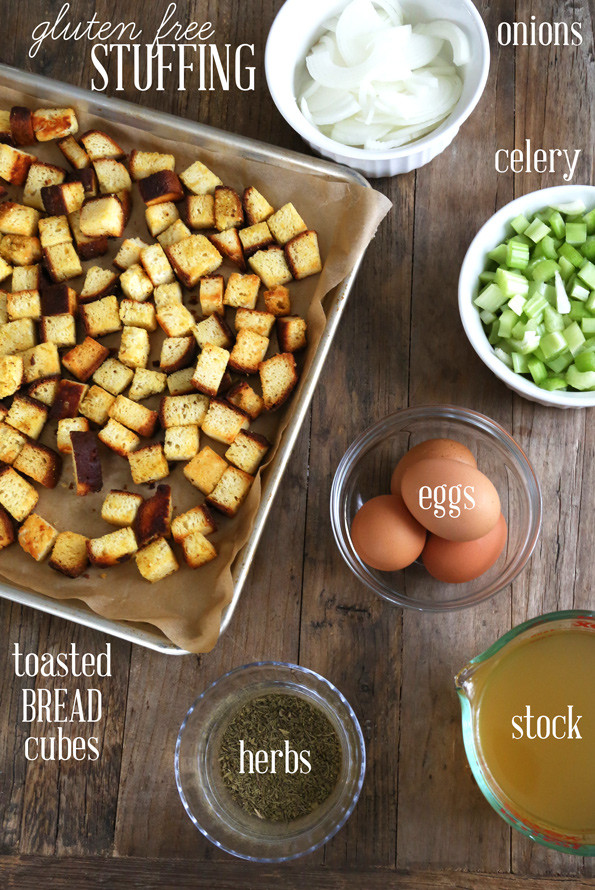 Gluten Free Stuffing Recipes For Thanksgiving  Gluten Free Stuffing for Thanksgiving