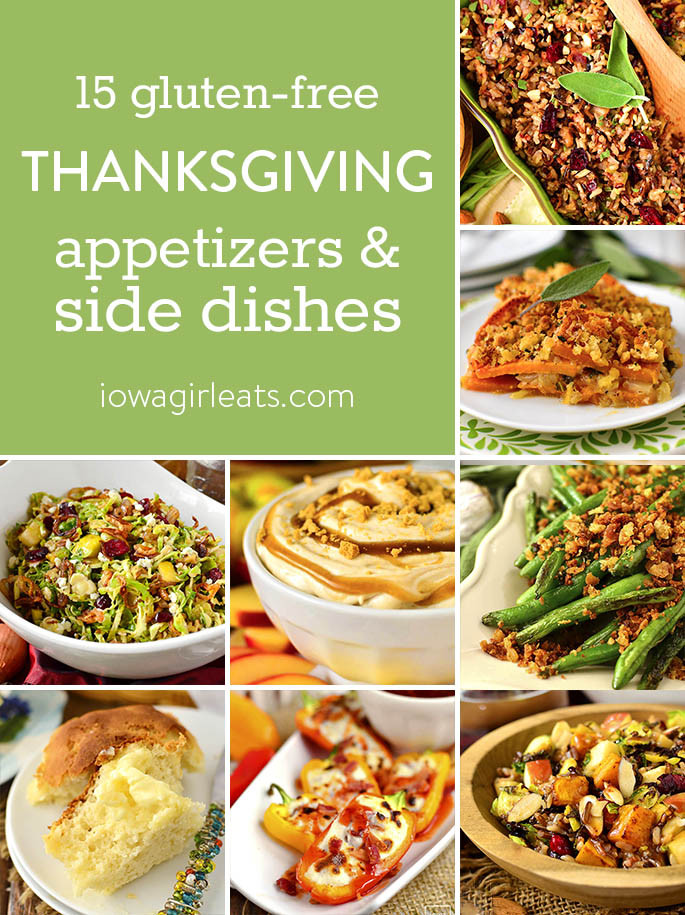 Gluten Free Thanksgiving Appetizers  15 Gluten Free Thanksgiving Appetizers and Side Dishes