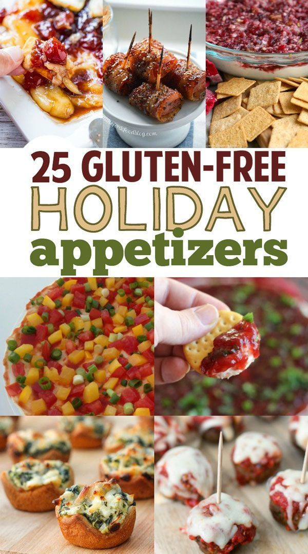 Gluten Free Thanksgiving Appetizers  Holiday Gluten Free Healthy Appetizers