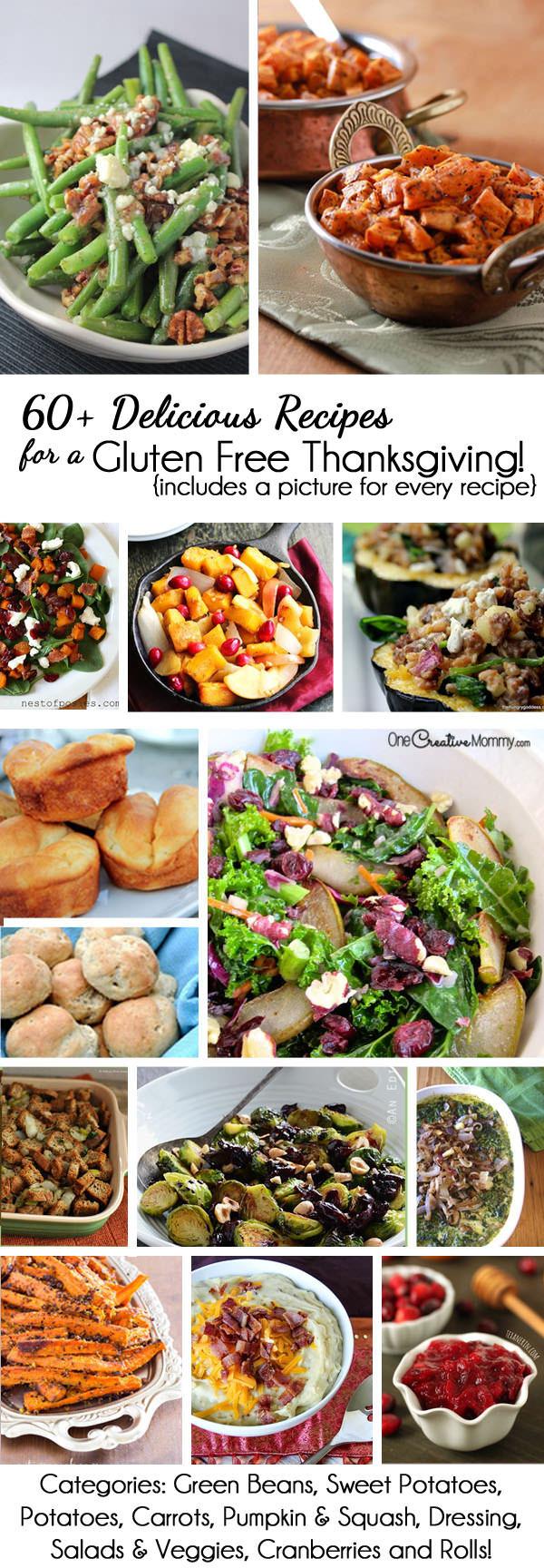 Gluten Free Thanksgiving  60 Gluten Free Thanksgiving Recipes onecreativemommy
