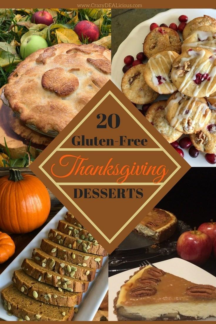 Gluten Free Thanksgiving Dessert  20 Gluten Free Thanksgiving Desserts