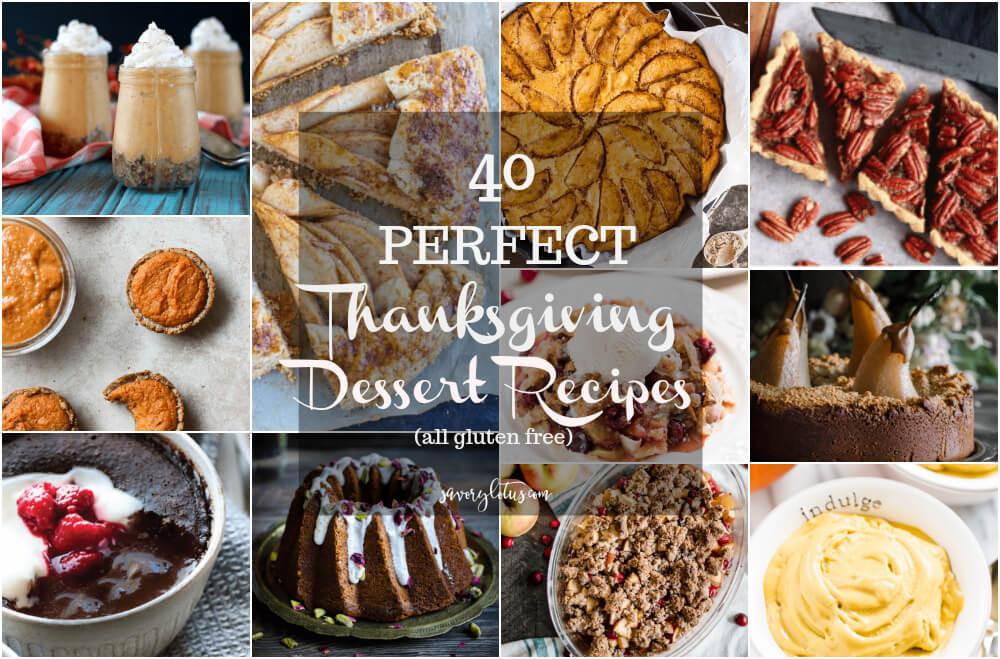 Gluten Free Thanksgiving Dessert  40 Perfect Thanksgiving Dessert Recipes Savory Lotus