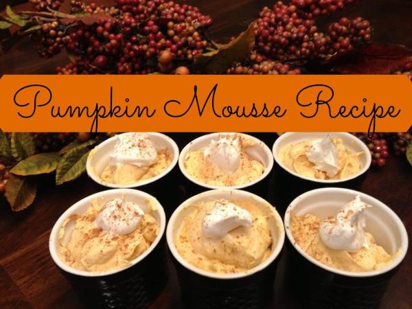 Gluten Free Thanksgiving Dessert  Easy Gluten Free Thanksgiving Dessert Pumpkin Mousse Recipe