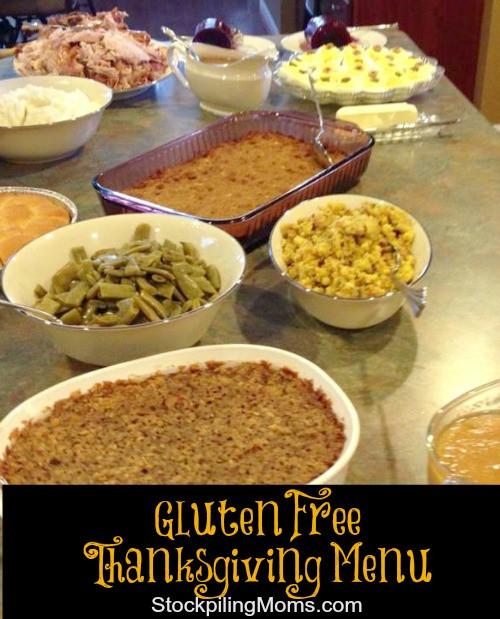 Gluten Free Thanksgiving Menu  Gluten Free Thanksgiving Menu Recipes & Tips
