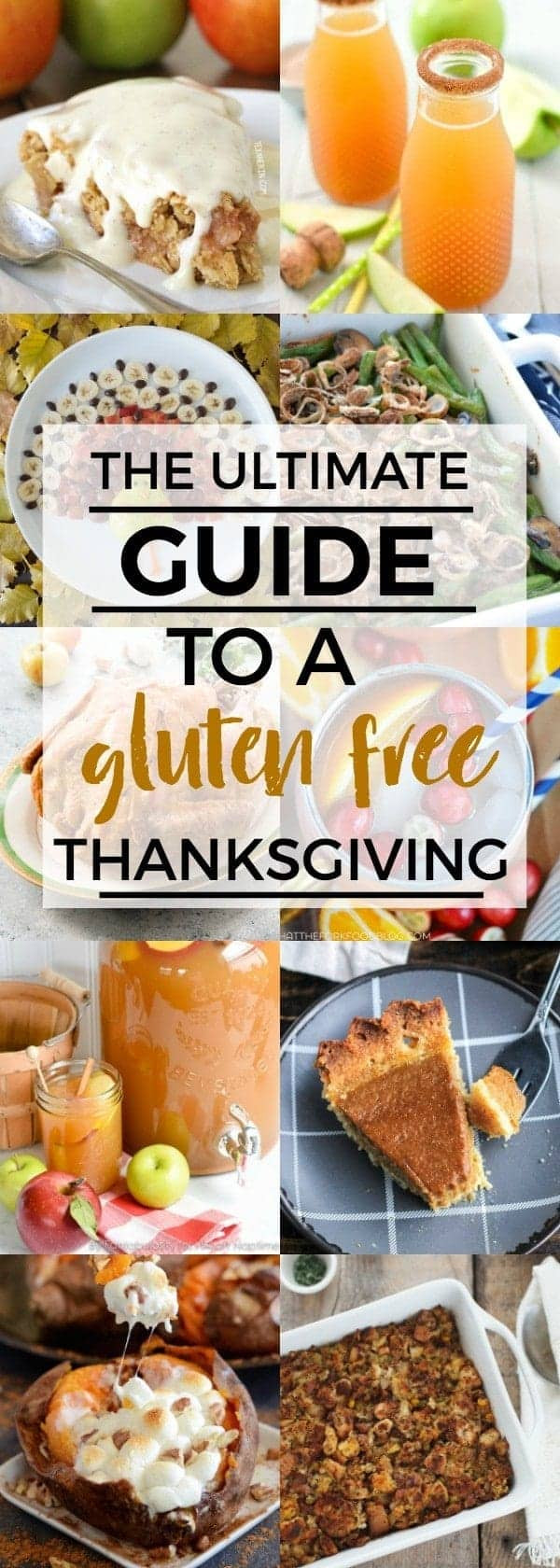 Gluten Free Thanksgiving Menu  An Easy Guide to a Gluten Free Thanksgiving Menu What