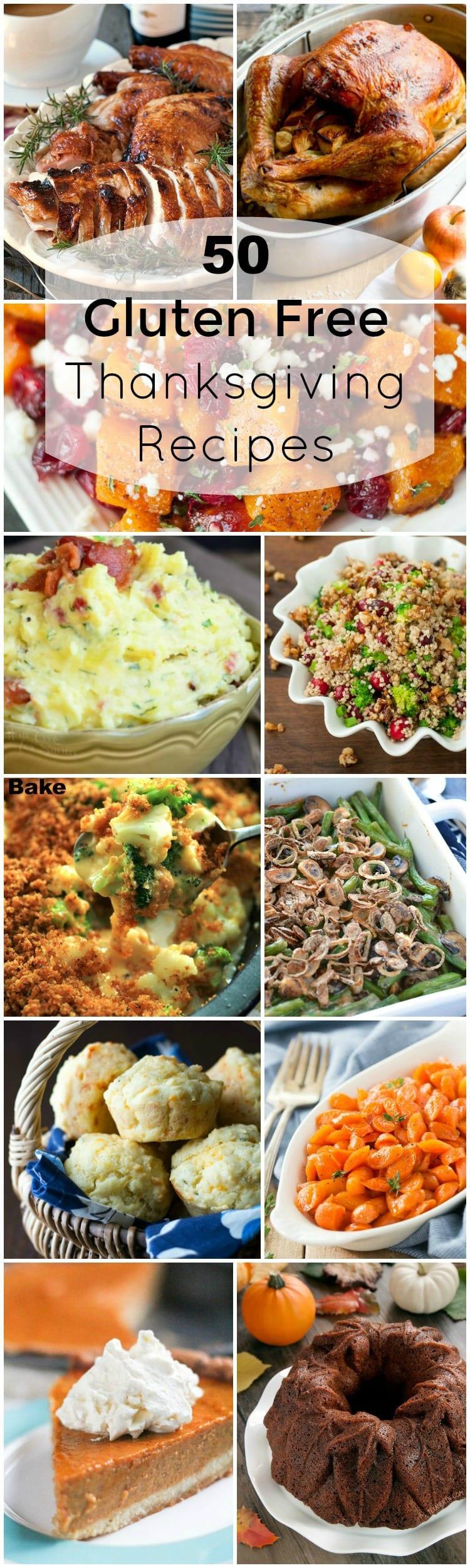 Gluten Free Thanksgiving Menu  50 Recipes For A plete Gluten Free Thanksgiving Dinner