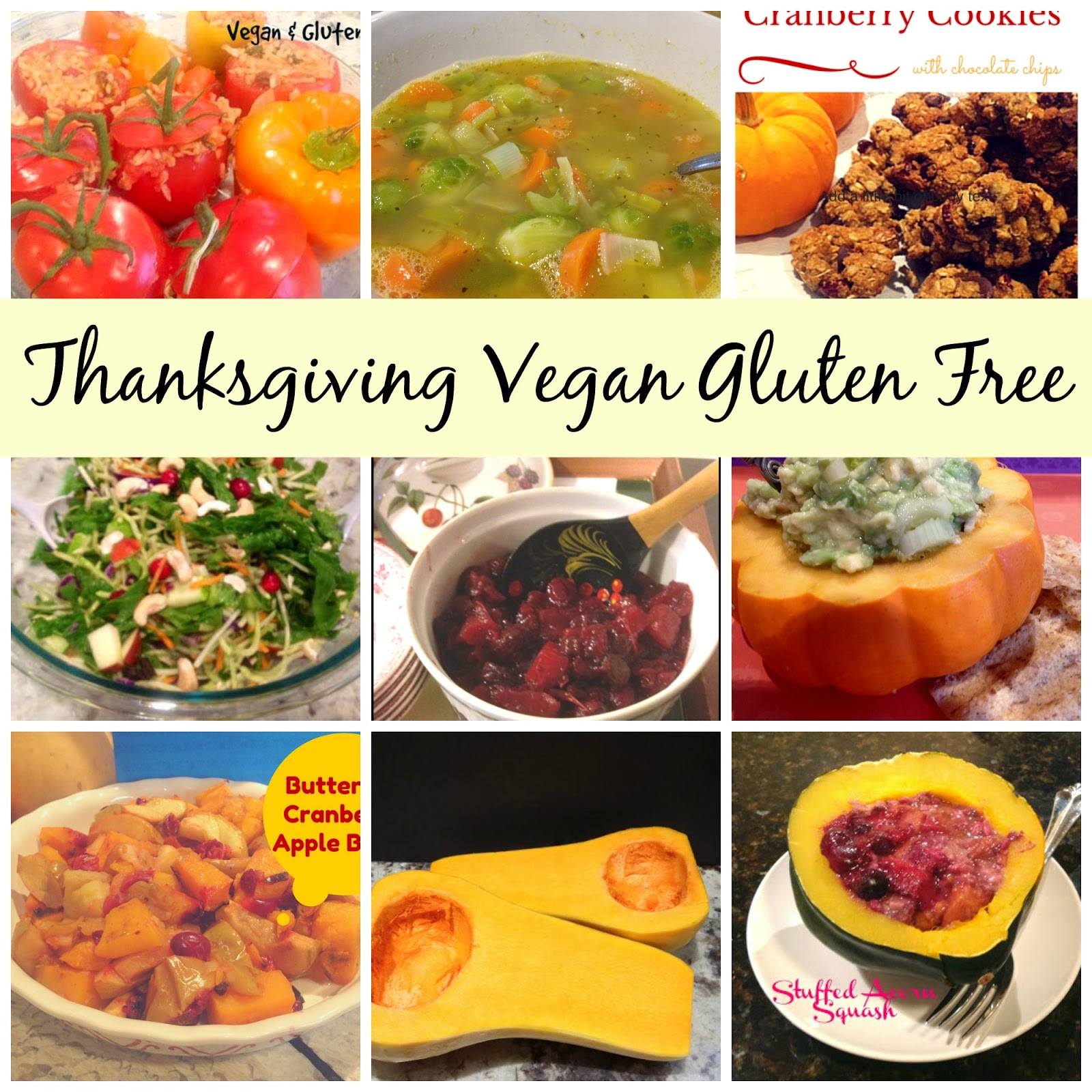 Gluten Free Thanksgiving Sides  Gluten Free A Z Healthy Vegan Thanksgiving Sides