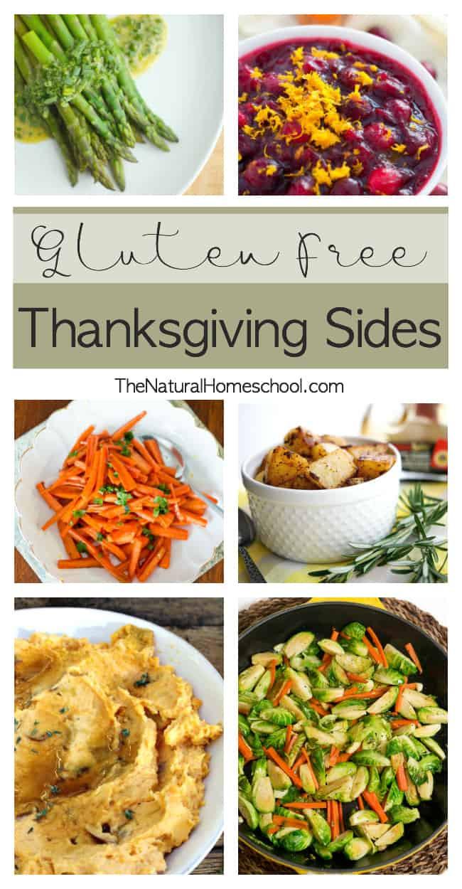 Gluten Free Thanksgiving Sides  Gluten Free Thanksgiving Sides The Natural Homeschool