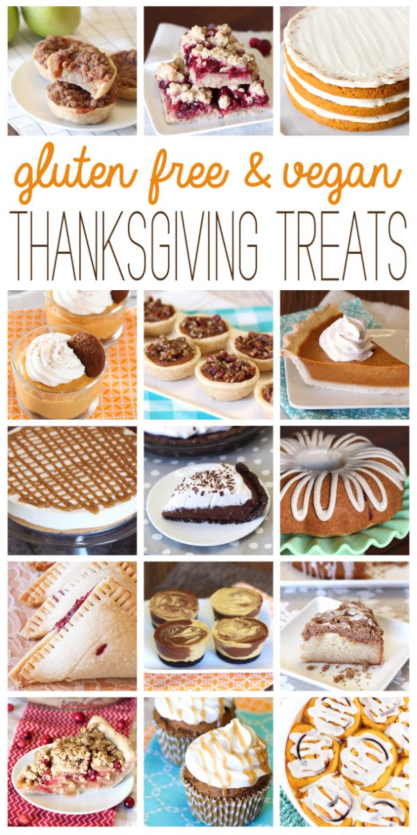 Gluten Free Vegetarian Thanksgiving  gluten free & vegan thanksgiving treats