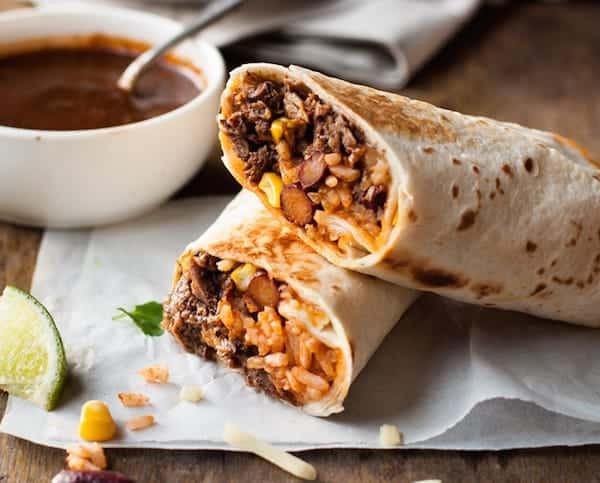 Good Burritos Don'T Fall Apart  Shredded Mexican Beef Burritos Freezer Friendly