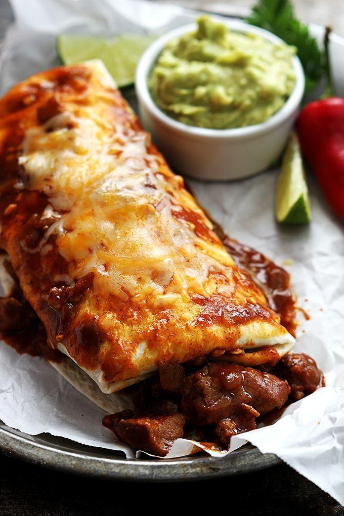 Good Burritos Don'T Fall Apart  Best 25 Chile colorado burritos ideas on Pinterest