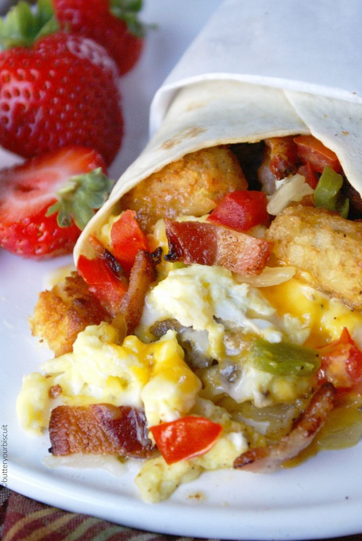 Good Burritos Don'T Fall Apart  17 Best ideas about Breakfast Burritos on Pinterest