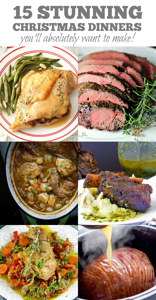Good Christmas Dinners  15 Stunning Christmas Dinners You ll Absolutely Want To