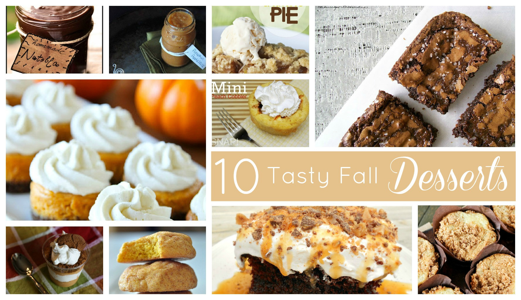 Good Fall Desserts  10 Great Fall Dessert Recipes