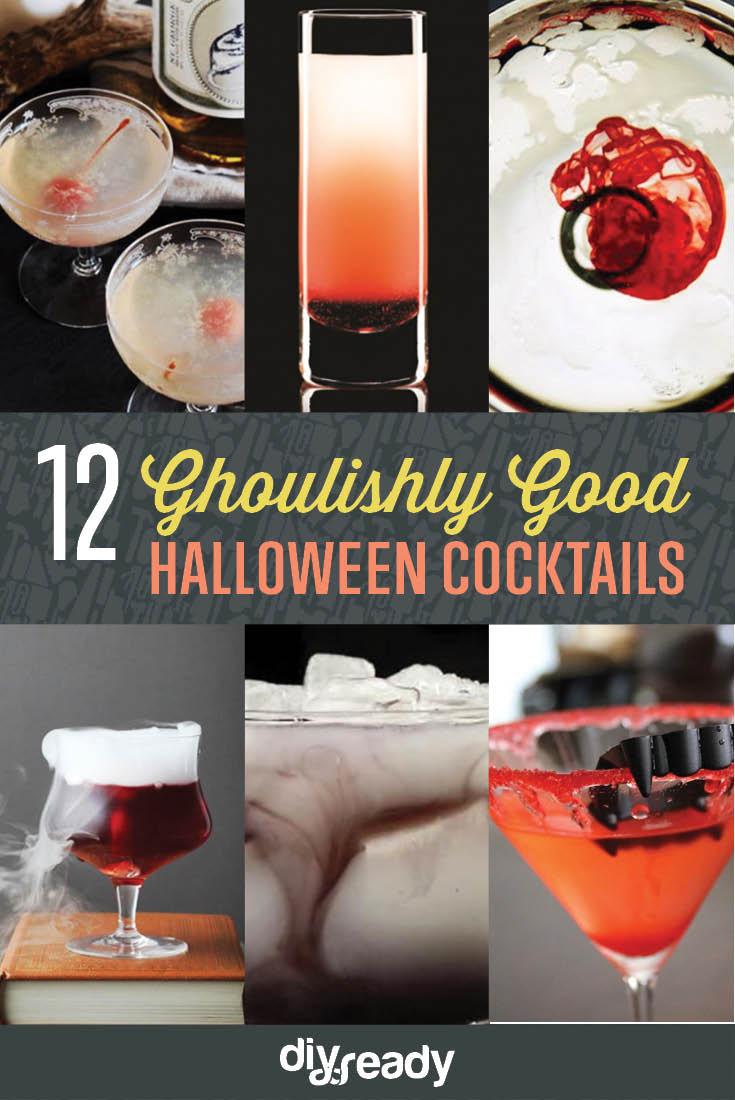 Good Halloween Drinks  12 Ghoulishly Good Halloween Cocktails DIY Ready