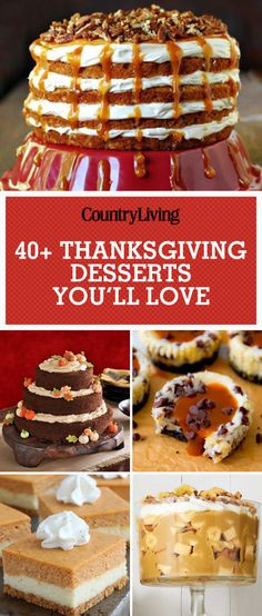 Good Thanksgiving Desserts  1000 images about Thanksgiving Recipes on Pinterest