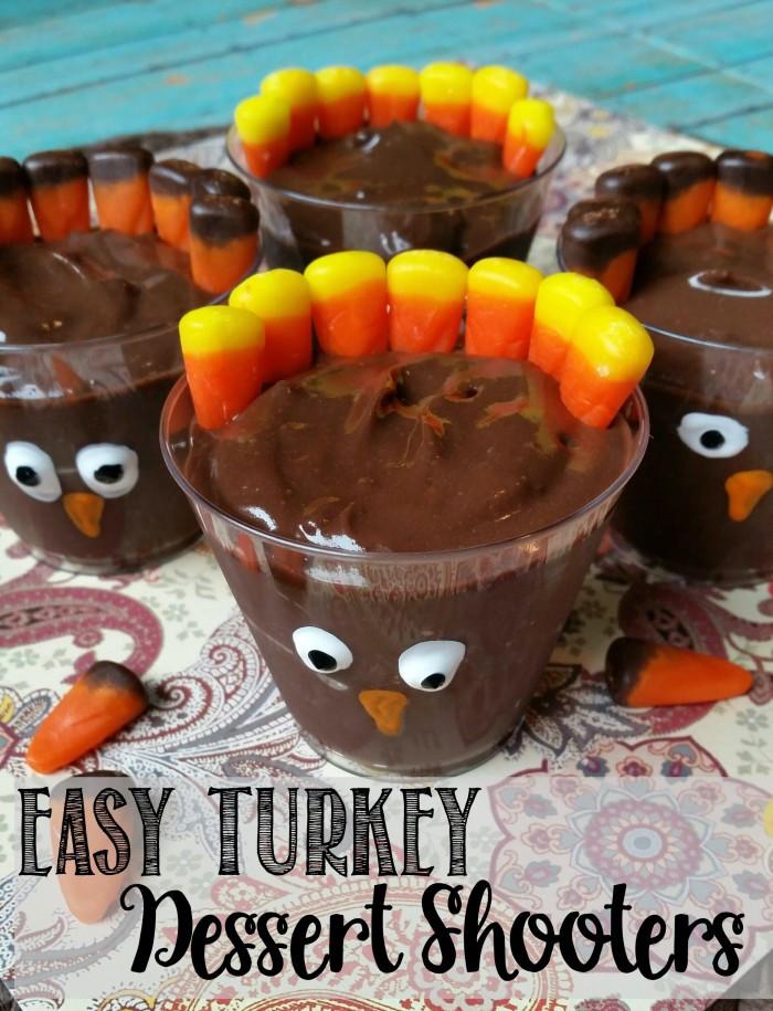 Good Thanksgiving Desserts  Turkey Dessert Shooters Easy Thanksgiving Recipe Not