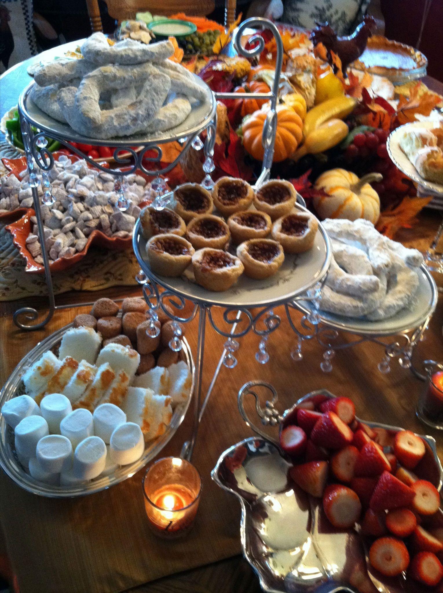 Good Thanksgiving Desserts  Thanksgiving Dessert Table Good Eats