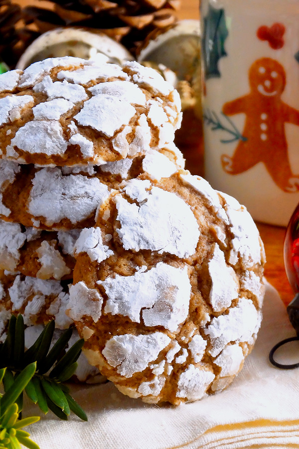 Gooey Butter Christmas Cookies  Gingerbread Gooey Butter Cookies from scratch  Wicked