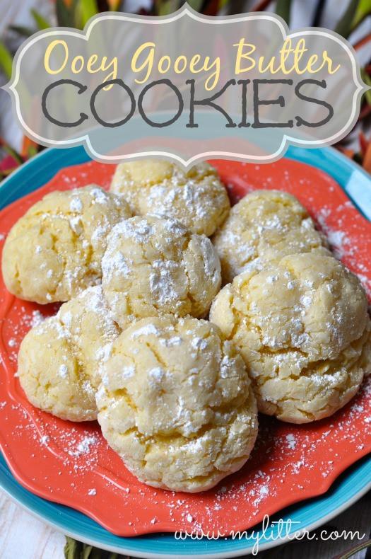 Gooey Butter Christmas Cookies  Ooey Gooey Cookies