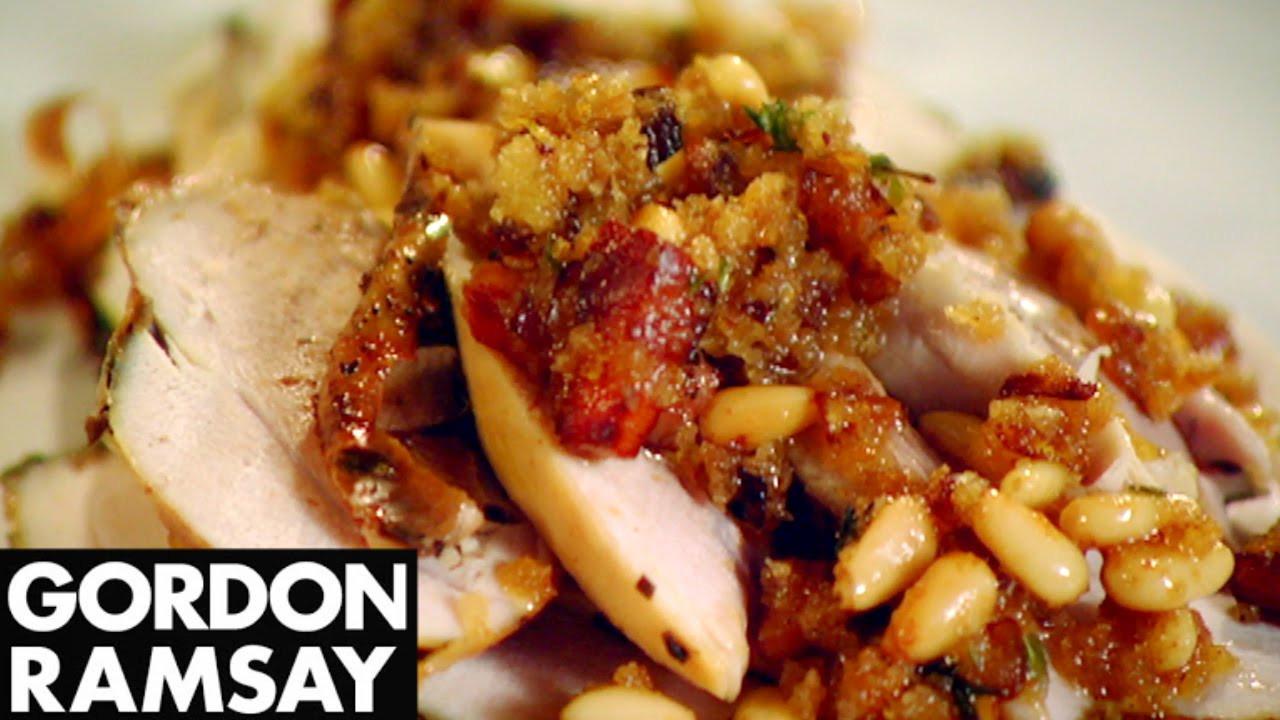 Gordon Ramsay Thanksgiving Turkey  Stuffed Roasted Turkey With Truffle Butter Gordon Ramsay