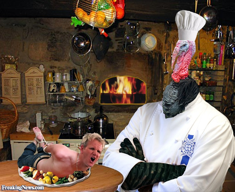 Gordon Ramsay Thanksgiving Turkey  Turkey Cooking Gordon Ramsay Freaking News