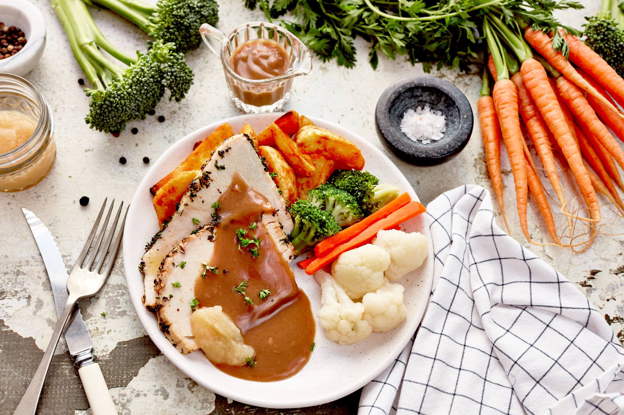 Gourmet Thanksgiving Dinner Delivered  Australia's Ready Made Home Delivery Meal Services