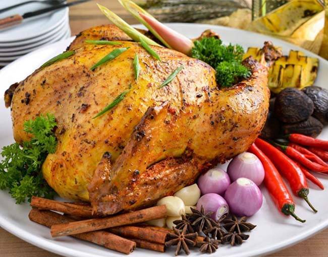 Gourmet Thanksgiving Dinner Delivered  Christmas Dinner 2016 Roast Turkey Delivery in Singapore