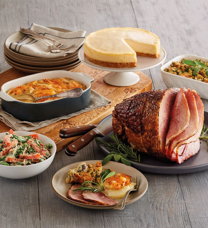 Gourmet Thanksgiving Dinner Delivered  Gourmet Ham Dinner