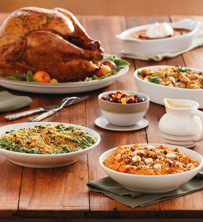 Gourmet Thanksgiving Dinner Delivered  Gourmet Turkey Feast